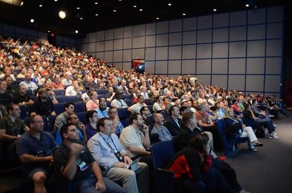 Op TechEd Houston sprak Sander voor een indrukwekkend publiek
