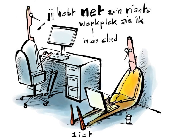 Online werkplek in de cloud